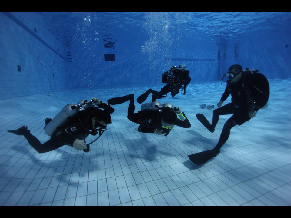PADI Technical Scuba Diving Hong Kong