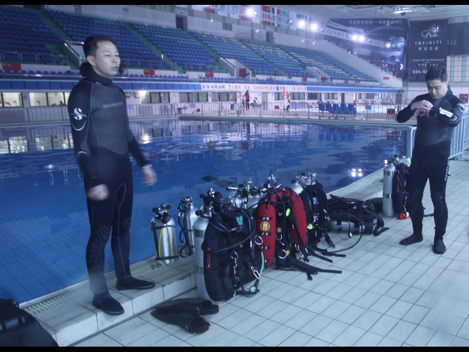 Poseidon Mk6 Recreational Rebreather Training Hong Kong